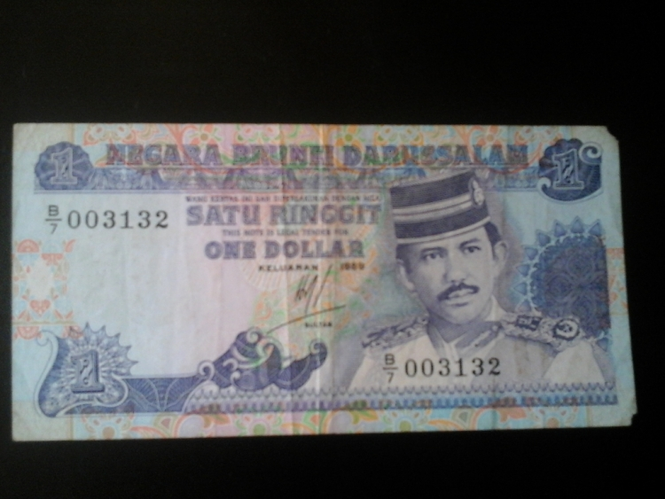 satu ringgit ( one dollar) • Banknotes Collection by donna